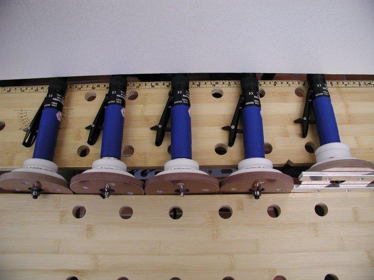 Handliche Kantenfräse mit Druckluft KF 400