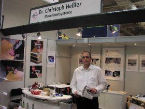 Starke Ligna 2011 in Hannover - Der Messe-Stand