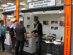 Starke Ligna 2009 in Hannover - Präsentation der Kantenfräsen 1
