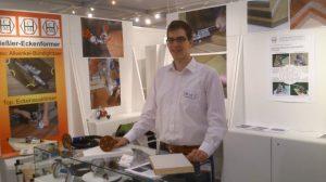 ZOW 2013 in Bad Salzuflen - Präsentation der Kantenfräsen