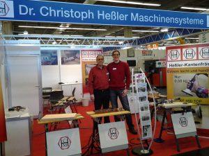 Holz-Handwerk 2014 - Messe-Stand