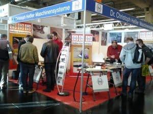 Holz-Handwerk 2014 in Nürnberg - Forführung der Kantenfräsen 4