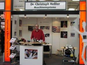 Starke Ligna 2009 in Hannover - Der Messe-Stand