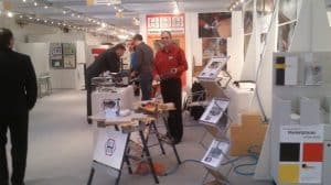 ZOW 2013 in Bad Salzuflen - Präsentation der Kantenfräsen durch Christoph Hessler