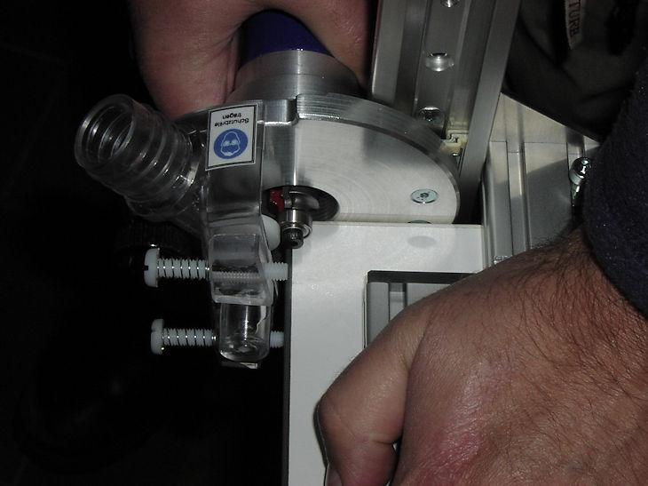 Eckenkopiermaschine ohne Kantenanleimmaschine