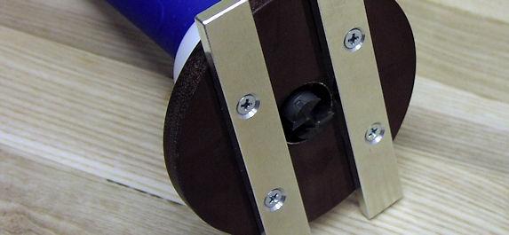 Kantenfräse KF 400 für Leimperlenentfernung