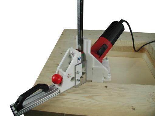 Rundungen in Innenecken von Brettsperrholz entfernen